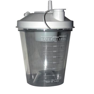 Aspirator/Suction Unit Plastic Canisters with Lids
