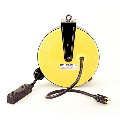 Extension Cord on Retractable Reel