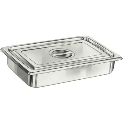 Stainless Steel Instrument Tray and Cover