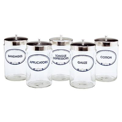 Labeled Sundry Jars