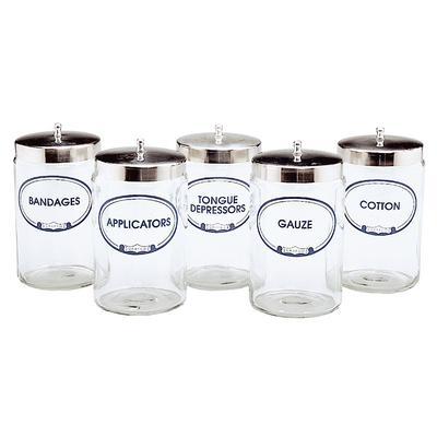 Labeled Sundry Jars