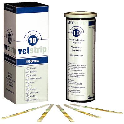 VetStrip™ 10 Urine Test Strips