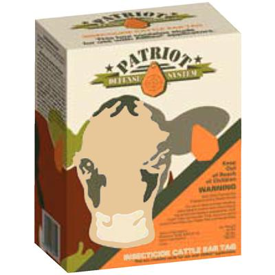 Patriot™ Insecticide Cattle Ear Tags