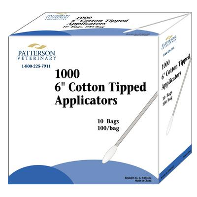Patterson Veterinary Brand Cotton Tipped Applicators
