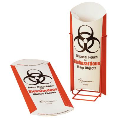 Biohazardous Disposal Pouch