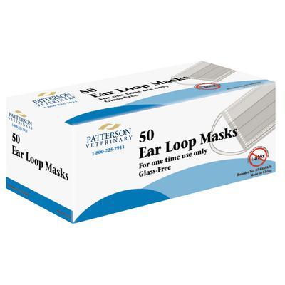 Patterson Veterinary Brand Earloop Mask