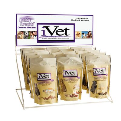iVet Empty Counter Top Display