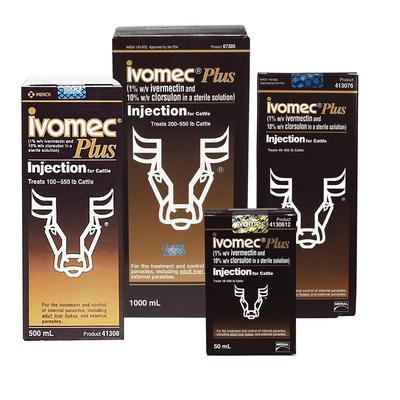 Ivomec® Plus Injection for Cattle