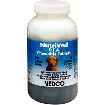 NutriVed™ O.F.A. Chewable Tablets for Large Dogs