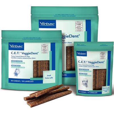 C.E.T.® VeggieDent™ Tartar Control Chews for Dogs