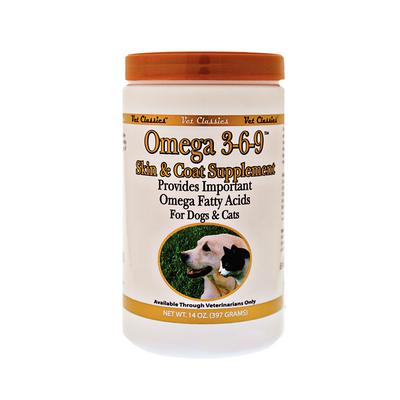 Omega 3-6-9™ Skin and Coat Powder (Dogs and Cats)