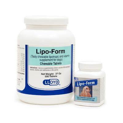 Lipo-Form Chewable Tablets