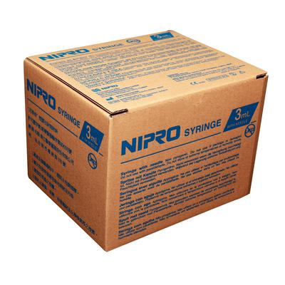 Nipro Disposable 3 cc Syringes With Needle