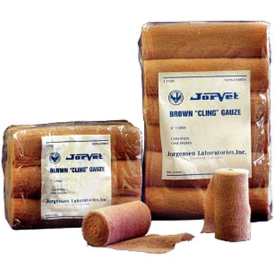 "BROWN GAUZE 3"" DOZ J0192A"