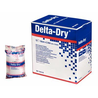 """DELTA-DRY 4""""X2.6 YD 12 ROLLS/BOX"""