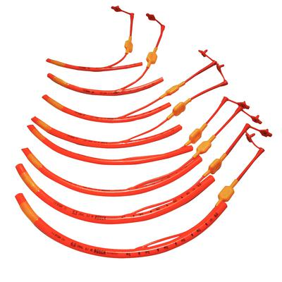 Red Rubber Endotracheal Tubes with Cuff
