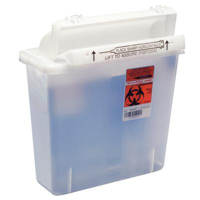 SHARPS CONTAINER 5QT CLEAR CA20