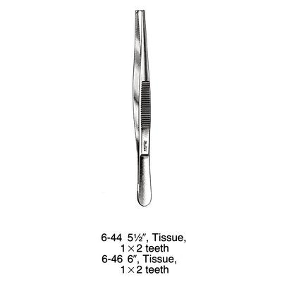 Miltex® Tissue Forceps with Serrated Handle
