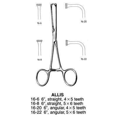 Miltex® Allis Tissue Forceps