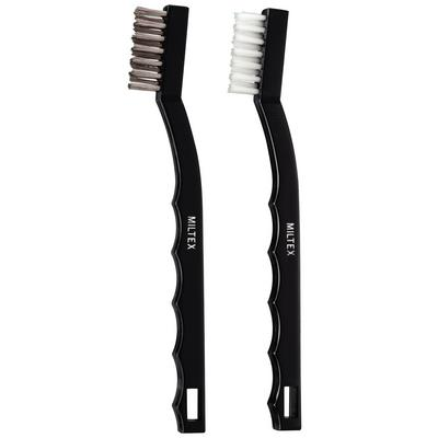 Miltex® Nylon and Stainless Steel Instrument Brushes 7-1/4""