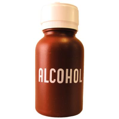 ALCOHOL DISP PLASTIC BOTTLE J0614