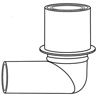 Jorgensen Anesthesia Elbow Connector