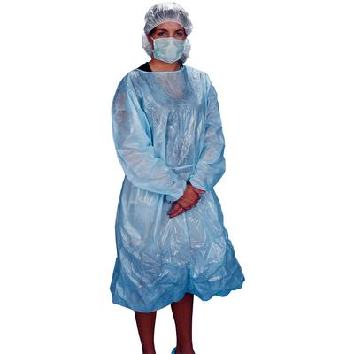 Polycoated Isolation Gowns