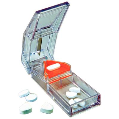 Deluxe Clear Pill Splitter