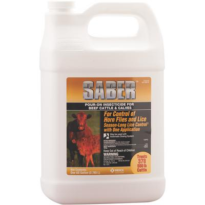 Saber™ Pour-On Insecticide 1%