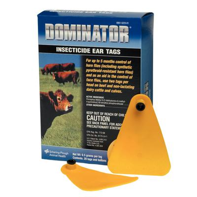 Dominator® Insecticide Ear Tag