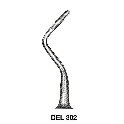 APICAL DENTAL ELEVATOR DEL302