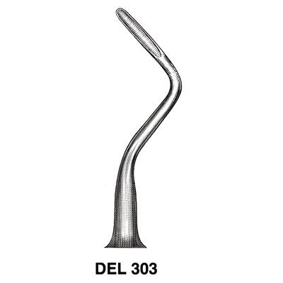 APICAL DENTAL ELEVATOR DEL303