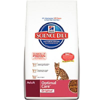Hill's Feline Optimal Care Dry Food