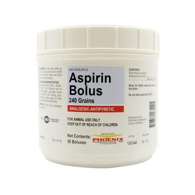 Aspirin Boluses