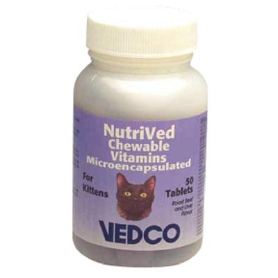 NutriVed™ Chewable Vitamins for Cats