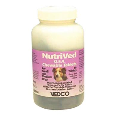 NutriVed™ O.F.A. Chewable Tablets for Small Dogs and Medium Dogs