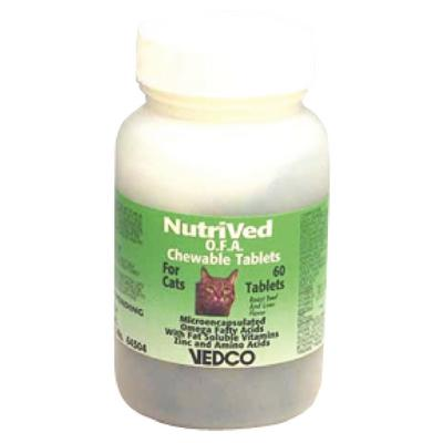 NutriVed™ O.F.A. Chewable Tablets for Cats