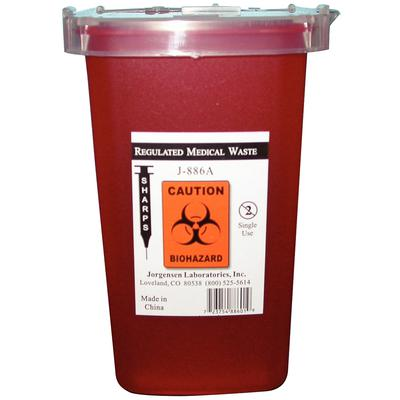 SHARPS CONTAINER 0.5LITER EACH J0886A