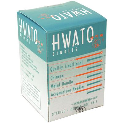 "HWATO ACUPUNCTURE NEEDLE 1"" (.20MM) BX100 J1121"