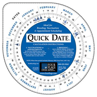 QUICK DATE CALCULATOR