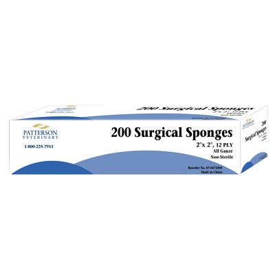 Patterson Veterinary Brand Gauze Sponges