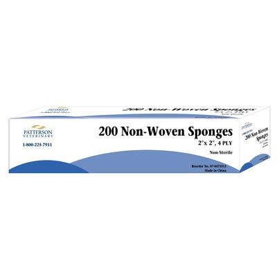 Patterson Veterinary Brand Nonwoven Sponges