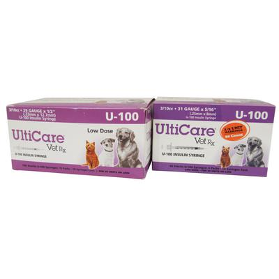 UltiCare® VetRx Insulin Syringes