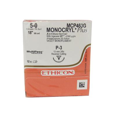 ETHICON™ MONOCRYL® Plus Antibacterial Sutures