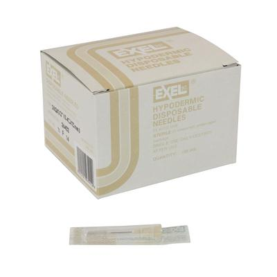 Exel Polypropylene Hub Needle