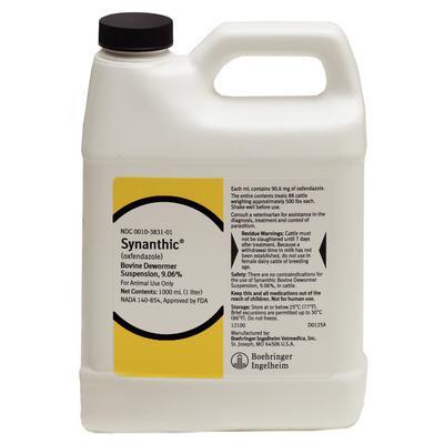 Synanthic Dewormer 9.06%