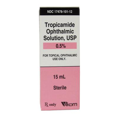 Tropicamide 0.5% Ophthalmic Drops