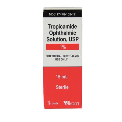 Tropicamide 1% Ophthalmic Solution