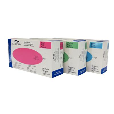 Patterson® Powder-Free Latex Exam Gloves