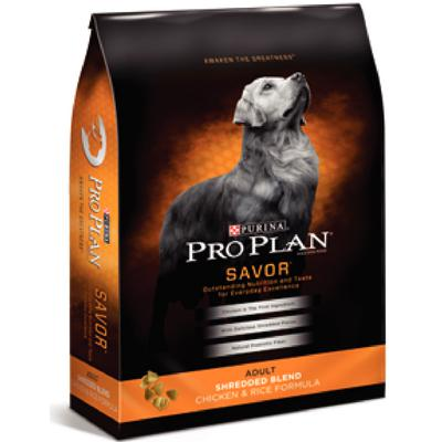 Pro Plan® Savor™ Shredded Blend Chicken and Rice Formula Adult Dog Food